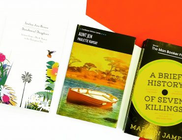 #ReadCaribbean Caribbean Writers Book Blogger www.paperbacksocial.com decolonial daughter repeater books a brief history of seven killings marlon james one world publications