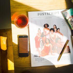 POSTSCRIPT London Cultural Anthology uk magazine and quarterlies motherhood untold