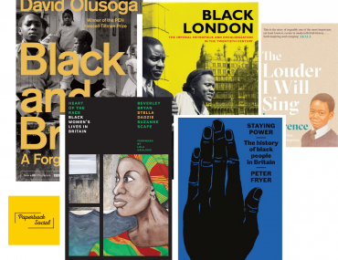Black British History Books David Olusoga Black History Month Stella Dadzie Peter Fryer Cherry Groce paperback social