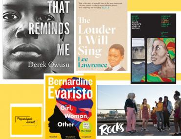 October 2020 reading wrap up Derek Owusu Bernadine Evaristo Stella Dadzie Rocks the film Lee Lawrence