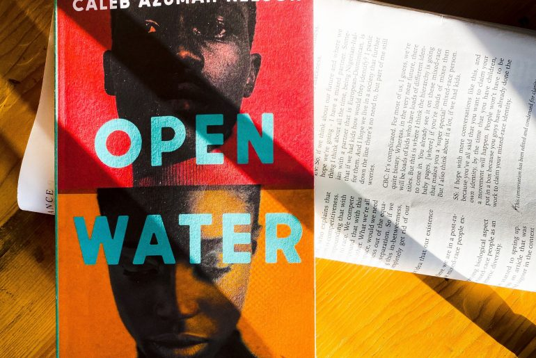Open Water Caleb Azumah Nelson Viking Books Black British Writer Ghanaian book review www.paperbacksocial.com