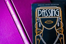 Passing By Nella Larsen Vanishing Half by Brit Bennett Book pair Dialogue Books