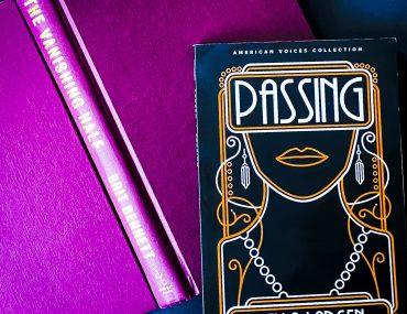 Passing By Nella Larsen Vanishing Half by Brit Bennett Book pair Dialogue Books